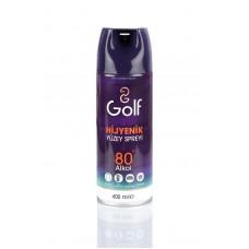 Golf Hijyenik Yüzey Spreyi 80° Alkol 400 ml