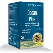 Ocean Plus 1200 Mg Saf Balık Yağı (50 Kapsül)