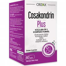 Orzax Cosakondrin Plus 60 Tablet