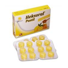 Heksoral 24 Pastil (Bal + Limon + Vitamin C)