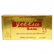 Gellia Skin Prezervatif Çilek Kokulu (12 adet)