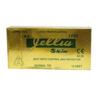 Gellia Skin Prezervatif Normal Tip 12 Adet